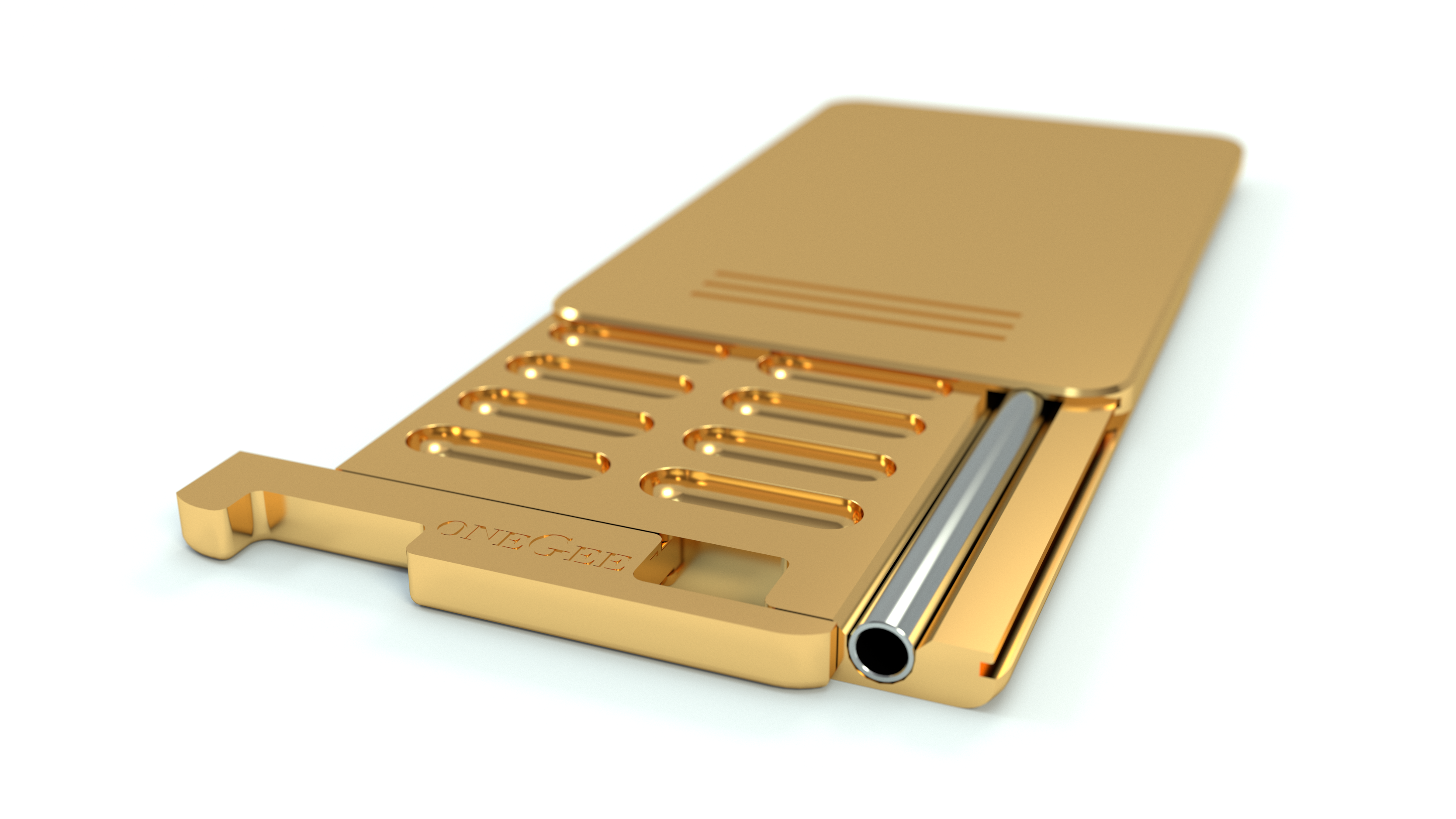 oneGee Snuffbox SecureBox Gold 24C